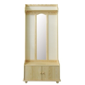 předsíňová stěna se zrcadlem - DM-KL-030
