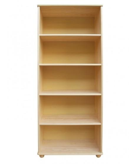Knihovna se 4 policemi DM-KL-050