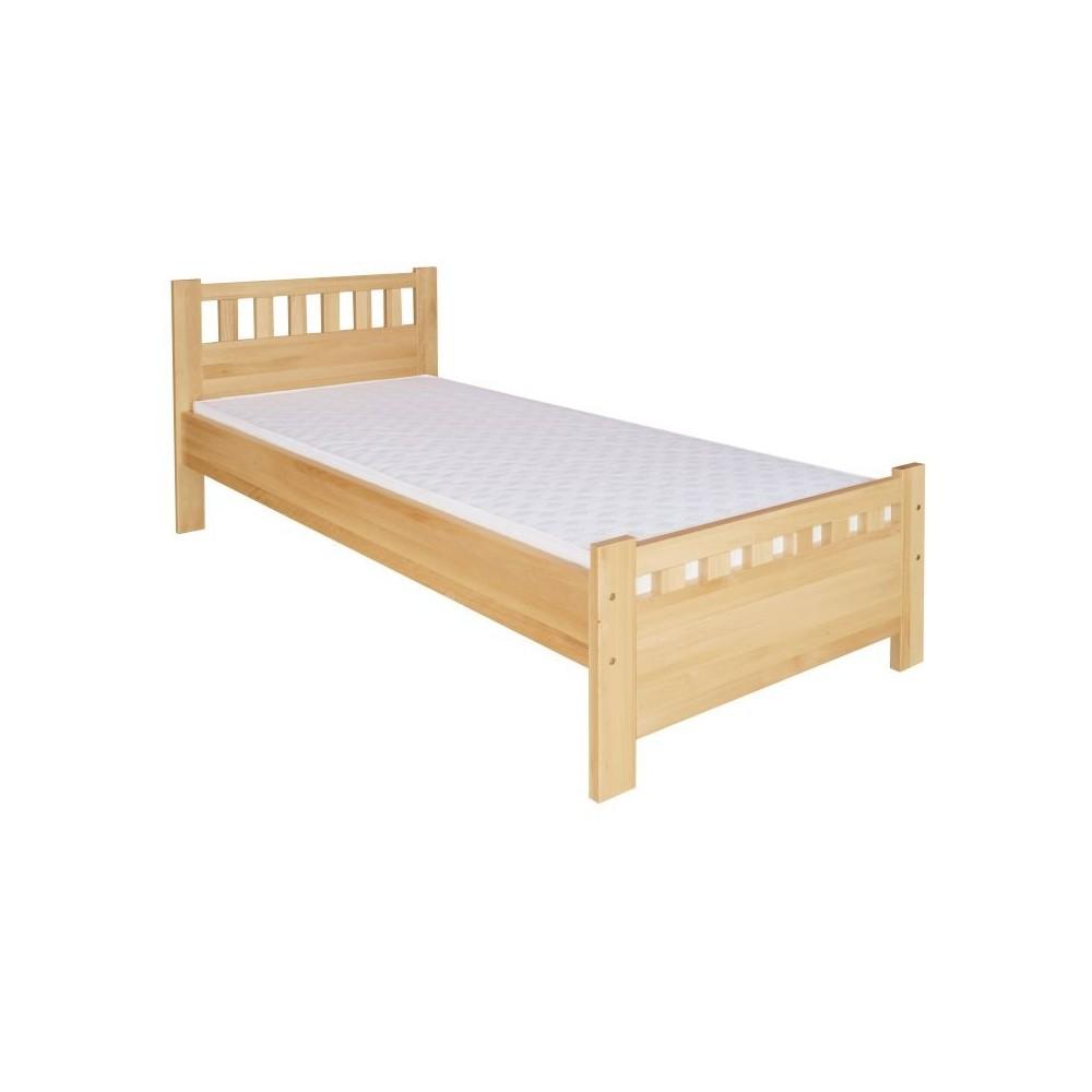 Borovicová postel jednolůžko Tomáš DM-KL-068