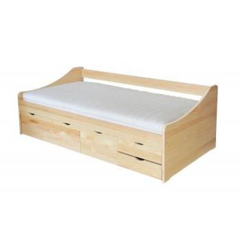 postel borovice zvýšená II - DM-KL-094