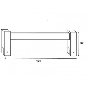zábrana 120 buk HP 105, 120×29×5,6