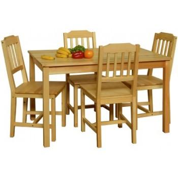 Stůl + 4 židle 8849