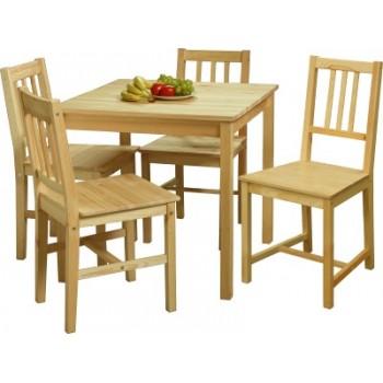 Čtvercový jídelní stůl 7842, 8842