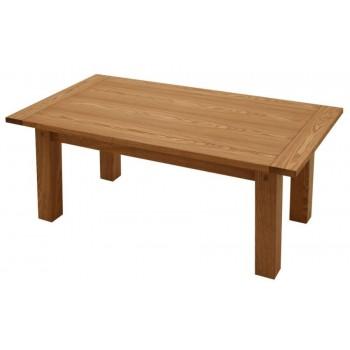 K64 - Konferenční stůl obdélník, dýh.MDF dub