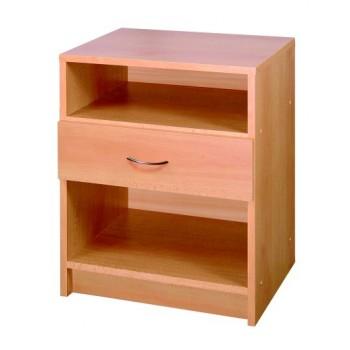 Noční stolek sezásuvkou 146, lamino BUK