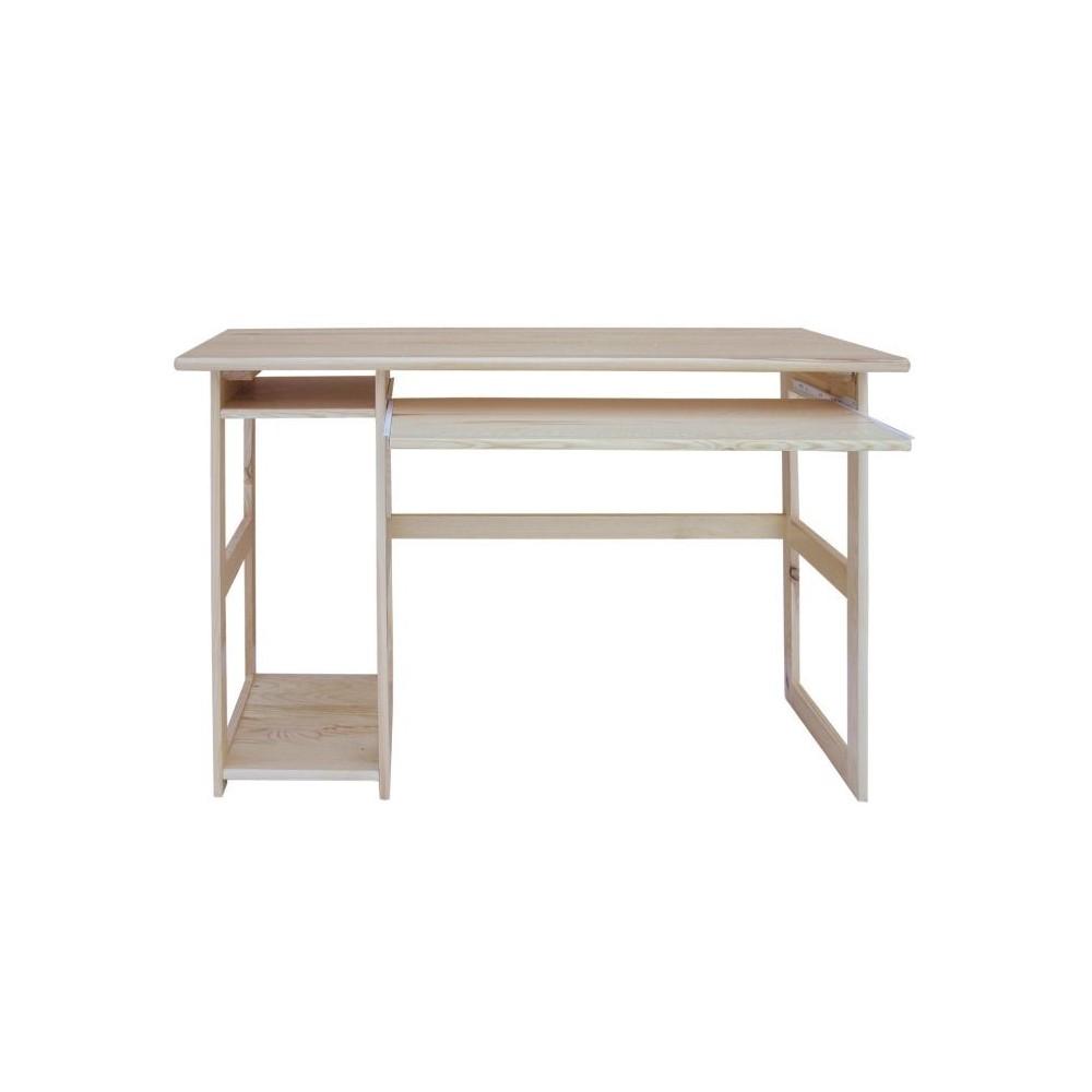PC stůl 120 - DM-KL-194, masiv borovice,  Doprava ZDARMA
