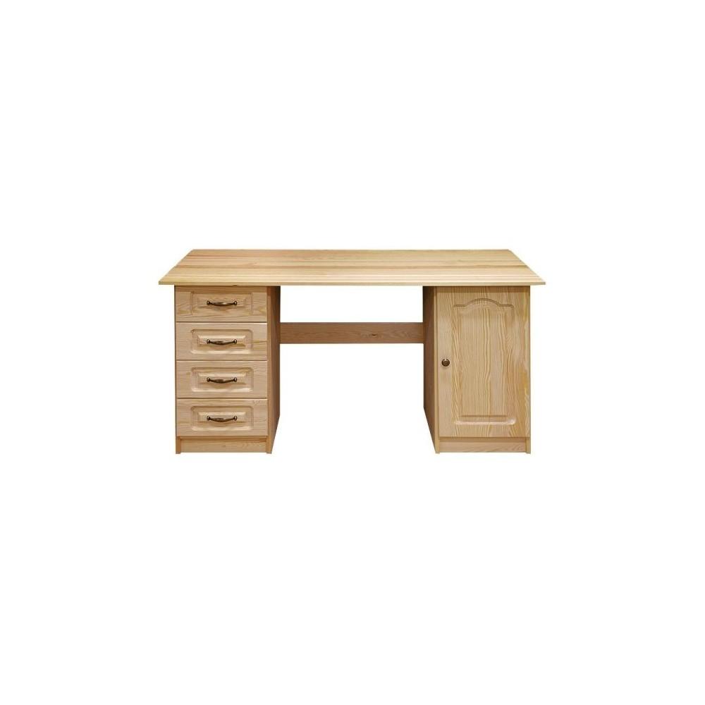 Stylový psací stůl Venezia 140 - DM-VZ-018, masiv borovice,  Doprava ZDARMA