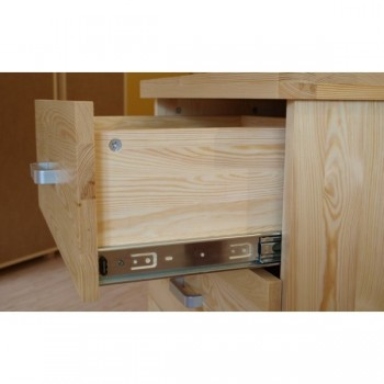 Komoda se zásuvkami - Prádelník Mango DM-MA-015, masiv borovice, Doprava ZDARMA