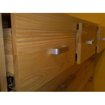 Komoda - prádelník se zásuvkami Mango LUX DM-ML-006, masiv borovice, Doprava ZDARMA