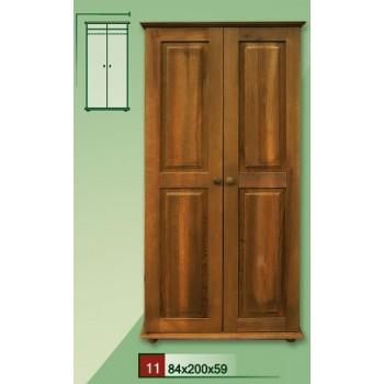 Dřevěná RETRO skříň VENEZIA II - DM-VZ-011, masiv borovice, Doprava ZDARMA