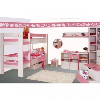 C123 - Poschoďová postel CASPER, dětský motiv (+Akce), Doprava ZDARMA