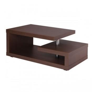 K119 - Konferenční stolek Tonda - HNĚDÁ