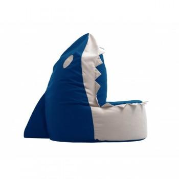 V01 - Sedací vak Žralok - modrý