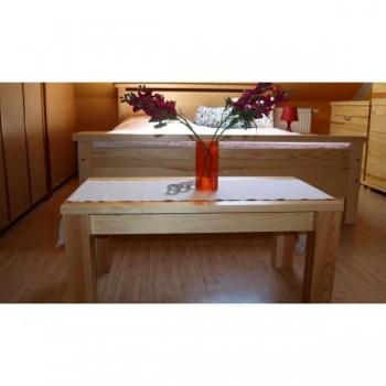 Dřevěný stolek obdélník KL-483