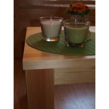 Dřevěný stolek obdélník KL-483 - detail