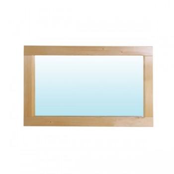 B191 - Dřevěné Zrcadlo borovice 125x45cm