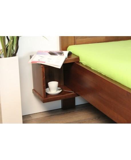 Noční stolek SUPRA závěsný, Moření ZDARMA HP 151B, (+Sleva 5%)
