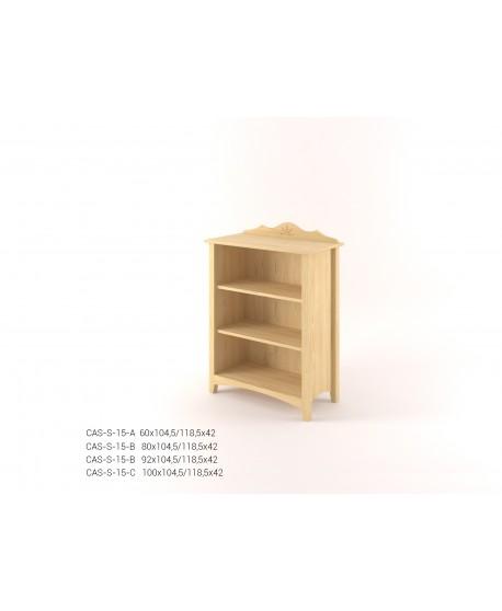 Stylová knihovna nízká CASTELLO