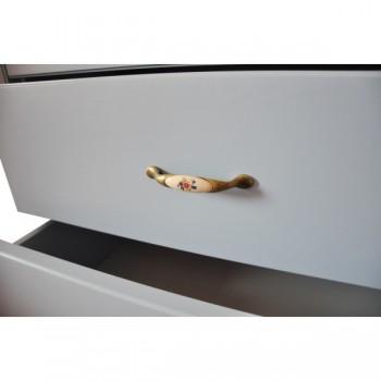 Stylová komoda zásuvková úzká - prádelník 4Z CASTELLO