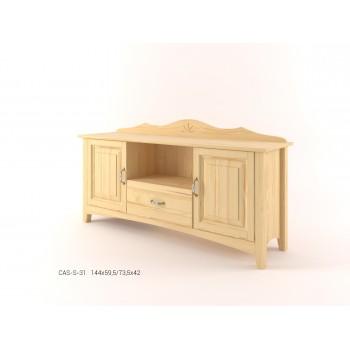 Stylový televizní stolek CASTELLO