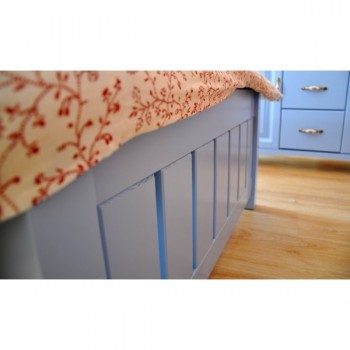 Stylová postel - jednolůžko CASTELLO