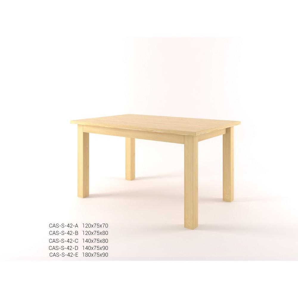 Stylový jídelní stůl obdélník CASTELLO