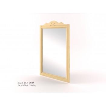 Stylové zrcadlo v rámu CASTELLO