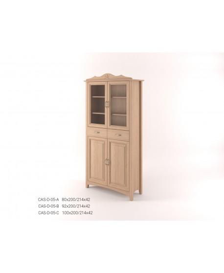 Stylová dvoudveřová Vitrína CASTELLO