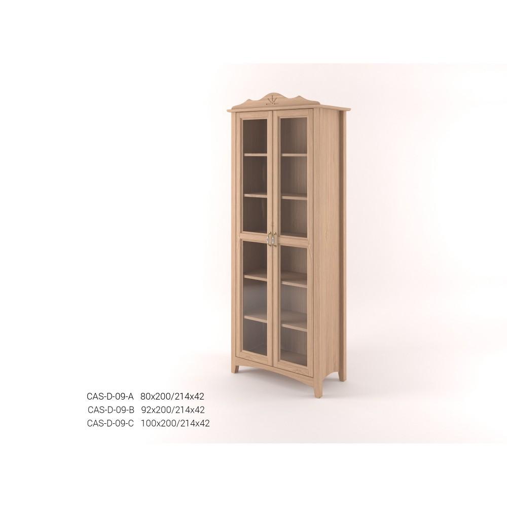 Stylová dvoudveřová Vitrína vysoká CASTELLO