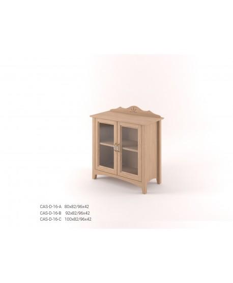 Stylová dvoudveřová Vitrína malá CASTELLO