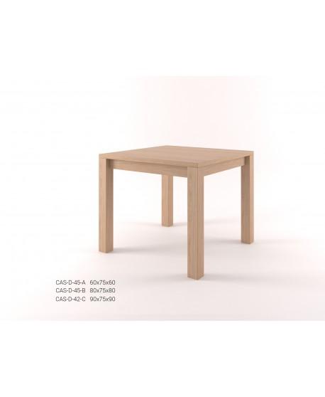 Stylový jídelní stůl čtverec CASTELLO