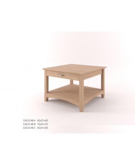 Stylový konferenční stůl se zásuvkou CASTELLO