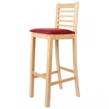 Z87 -  Barová židle ŠÁRKA, čalouněná