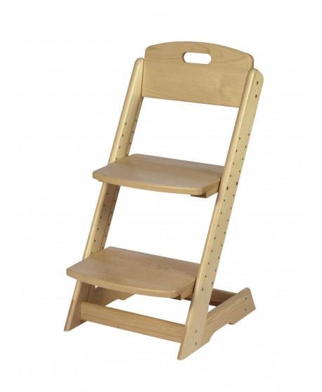 Dřevěná rostoucí - polohovací židle HP 046, smrkový masiv