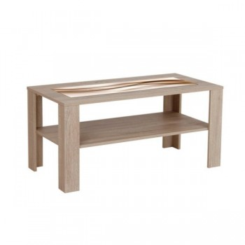 K151 - Konferenční stolek s potiskem MATĚJ - DUB Sonoma