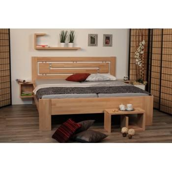 Manželská postel HEIDI SUPRA HP 144B - BUK Cink