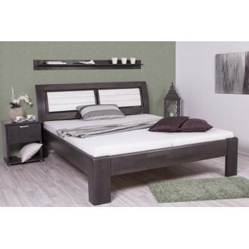 Noční stolek SIGMA 192B + postel VALENCIA - moření ANTRACIT