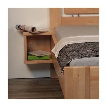 Závěsný noční stolek SENIOR HP 151BZ, BUK Cink