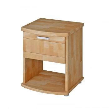 Noční stolek MEGAN 194B, BUK Cink
