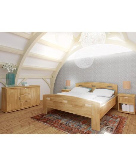 Manželská postel MEGAN Supra 162B - BUK Cink