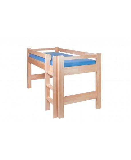 Zvýšená postel LUCAS HP 101B - BUK Cink