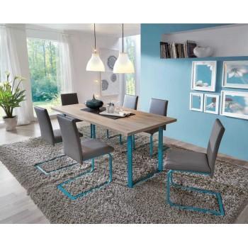 Stůl NEVADA - San Remo + Tyrkysová