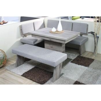 TRIO - Moderní rovná lavice bez opěru