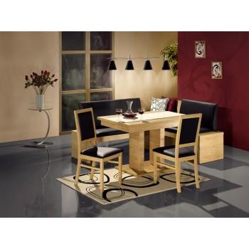 Jídelní Stůl HECTOR s lavicí HECTROR a židlemi LAURA