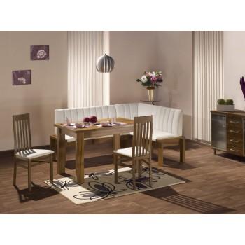 Jídelní Stůl HELENA + Rohová lavice HELENA