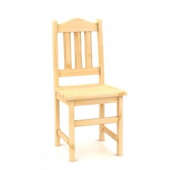 B161 - Židle celodřevěná MILUŠE - Borovice