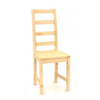 B166 - Celodřevěná jídelní židle - Borovice