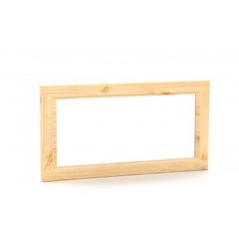 MV086B - Dřevěné Zrcadlo borovice 85x45cm