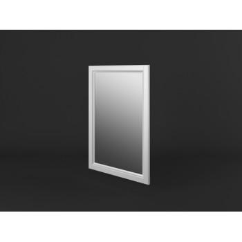 Stylové zrcadlo v rámu PROVANCE - BÍLÁ