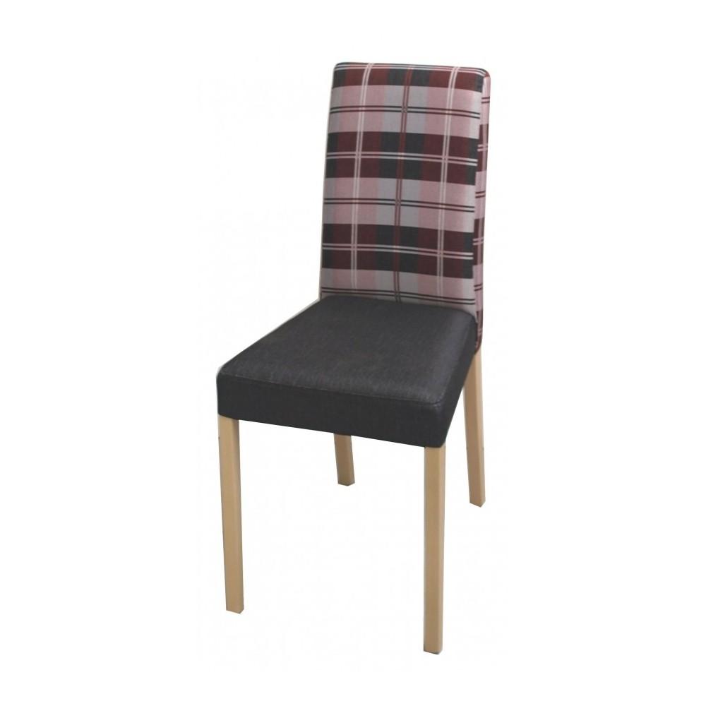 Moderní celočalouněná židle LEXIE, buková